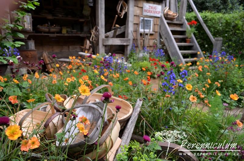 Chelsea Flower Show 2015, A Trugmaker's Garden