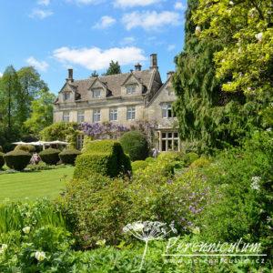 Zahrady Rosemary Verey - Barnsley House a Litlle House